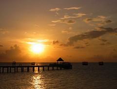 Peaceful Sunset (Heaven`s Gate (John)) Tags: travel sunset sea vacation sky sun beautiful ilovenature top20sunrisesunset indianocean peaceful calm maldives thudufushi johndalkin heavensgatejohn