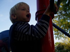 Zephyr playing (gnomiegirl) Tags: playing playingkids kidpark