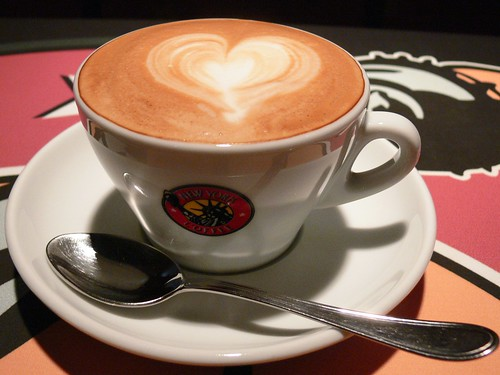 I love coffee, and it loves me back. (PHOTO CREDIT: Ahmed Rabea)