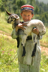 Little Shepherd ((s@jj@d)~`~DiL~AwAiZ~`~ Back) Tags: life pakistan colour nature beauty child nwfp holidayvacanzeurlaub travelerphotos