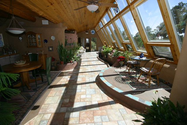 Hallway/Greenhouse Looking East