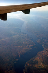 Saguenay River (caribb) Tags: canada flying inflight quebec windowview klm saguenay saguenayriver kl671 mdll