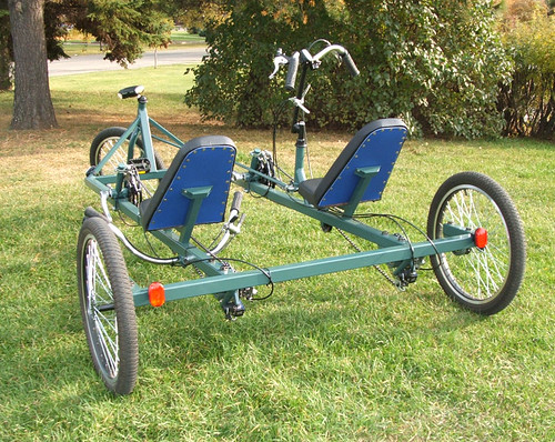 Recumbent bike - Kyoto Cruiser Trike