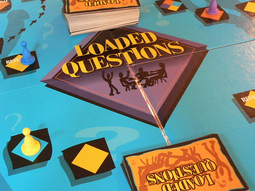 funny sex questions. Loaded Questions Board Game