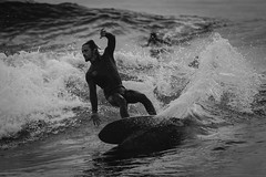 20160918 -Surf_12 (Laurent_Imagery) Tags: surf surfer surfing surfline blackandwhite blackwhite black noiretblanc dark darkness water sea ocean pacific pacificocean oceanpacific wetsuit wet coast coastal swell wave lajolla windansea sandiego california state fall action sport culture lightroom nikon d3