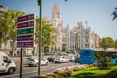 (<Domantas>) Tags: madrid spain ispanija madridas plaza de cibeles