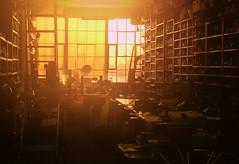 [フリー画像] [人工風景] [インテリア] [部屋/ルーム] [夕日/夕焼け/夕暮れ]       [フリー素材]