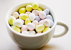 A Cup of Mini Eggs. (*Cinnamon) Tags: cup cadbury minieggs imsoaddicted