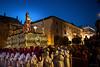 Injurias (antoniopérezsánchez) Tags: semanasanta mérida extremadura procesión paso plazadeespaña easter horaazul bluehour
