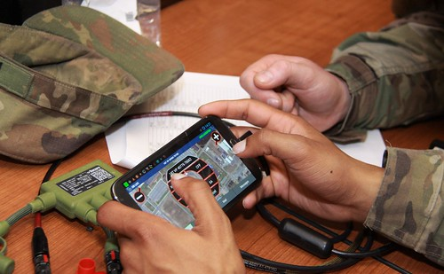 Winning the battle, via smartphone: 10th Mountain fields new Field Artillery technology