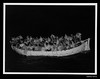 Life boat no 3 from MV SKAUBRYN in Indian Ocean at night (Australian National Maritime Museum on The Commons) Tags: australiannationalmaritimemuseumcollection©iomicem 1950s australiannationalmaritimemuseum migrants skaubryn mv ship sinking internationalorganisationformigration iom icem fire voyagestravels lostatsea