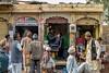 Menfolk of Jaisalmer at the Barbershop | Mobile Shop (shapeshift) Tags: mobilestore doors arches socialdocumentary 50mm d5600 nikon travel wanderlust barber storefronts storefront dailylife shapeshift shapeshiftnet streetphotography menfolk barbershop jaisalmer rajasthan india in