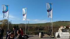 Terrassenblick vom Weingut Eppelmann, Stadecken, beim VinoCamp Rheinhessen 2018