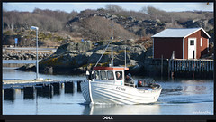 1 of 6 new for my album Working-,  Passenger and Fishing boats (6) (andantheandanthe) Tags: sea blue water sky boat fishing marstrand piers fairway waterway house islanda