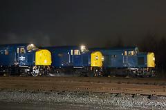 40012 + 40135 + 40145 11th April 2018 (John Eyres) Tags: three br blue 40s 40012 40135 40145 bury cfps 40 shoot 110418