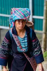 Lào Cai & Sapa VIETNAM _MG_8031 2018_03_03 (catoledo) Tags: people asian tribes vietnam 2018 sapa woman look eyes