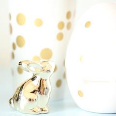 golden bunny dots (event-photos4dreams (www.photos4dreams.com)) Tags: egg easter easteregg oster ei osterei photos4dreams p4d photos4dreamz blue blau eventphotos4dreams susannahvvergau ostern canoneos5dmark3 iii