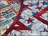 827_Patriotic Stars on Wood Table Topper Red_i (QuiltinWaYnE) Tags: quilted handmade kitchentabledecor diningtabledecor coffeetabledecor tablemat tabletopper tabledecor quiltedtabletopper quiltsy etsyseller etsyquilter etsy etsyshop etsyhandmade qqqetsy quiltedtabledecor tablelinen handmadequilt tablequilt americana patriotic