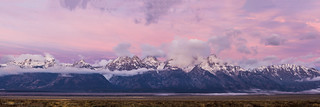 Grand Teton Sunrise Panorama