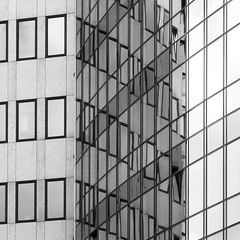 Abstract Square 7 (Récard) Tags: patterns abstract architecture sw bw architektur