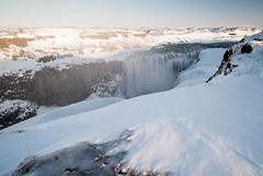 Detifoss (Uldis K) Tags: detifoss selfoss waterfall river winter iceland