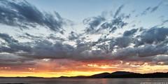 2018-05-23 Sunset (02) (2048x1024) (-jon) Tags: anacortes skagitcounty skagit washingtonstate washington salishsea fidalgoisland sanjuanislands pugetsound guemeschannel kiwaniswaterfrontpark sunset sky clouds cloud pnw pacificnorthwest composite stitched a266122photographyproduction