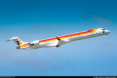 [TLS.2013] #Air.Nostrum #Iberia.Regional #YW #IB #Bombardier #CRJ1000 #EC-LPG #Castilla.y.Leon #awp (CHR / AeroWorldpictures Team) Tags: air nostrum iberia express bombardier crj1000 cl6002e25 msn 19021 2x ge cf348c5a2 eclpg sticker castillayleon history aircraft first flight test cgzqw built site montreal ymx canada delivered airnostrum yw ane cabin config cy100 crj spanish airlines european plane aircrafts airplane planespotting france regional nikon d300s zoomlenses 70300vr raw lightroom nikkor aeroworldpictures awp chr 2013 toulouse blagnac tls lfbo