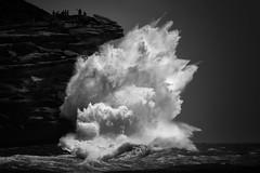 Just Swell (rosiebondi) Tags: surf ocean sea blackandwhite coast wave waves storm