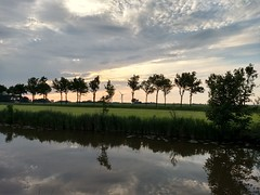 20180524 02 Onderdendam (Sjaak Kempe) Tags: 2018 lente spring mei may sjaak kempe motorola moto g5 plus nederland netherlands niederlande groningen provincie onderdendam avond evening sunset windmill windmills avondlicht light