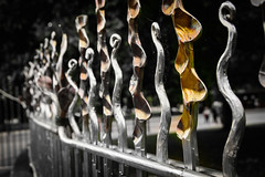 Happy 'Sculptural' Fence Friday (Harry2010) Tags: fence fencefriday outdoors metal london england art sculpture