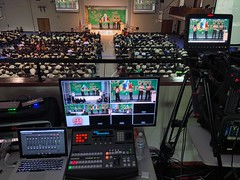 Weekend video duty for 2018 Florida Pathfinder Red Zone (Lee Bennett) Tags: production switcher atem blackmagic redzone stage meeting pathfinder record stream camera video