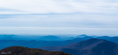 Mountains blues (Irina1010) Tags: mountains landscape blue perspective blueridgemountains haze morning sky mood nature canon coth5 ngc npc