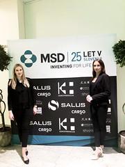 Hostesi Agencija Promo d.o.o. na dogodku MSD Careers.