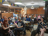 "12.Open Mic Audience co-creates ""Audition"" piece with Ira Liss (IraLissPhotography) Tags: innisfree cafe innisfreecafe openmic tuesdaynight iraliss audienceparticipation interactive theater spokenword poetryperformance boulderopenmic iragliss innisfreepoetrybookstorecafe crowdaudition auditionpiece audition"