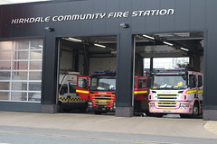 Kirkdale Fire Station (Liam Blundell Photography) Tags: merseyside fire rescue service m10p1 m10p2 dim kirkdale station lily the pink dk57fku dk60dvn engine supershot p270 p280