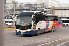 SF 54142 @ Glasgow Buchanan Street bus station (ianjpoole) Tags: stagecoach fife volvo b13rt plaxton elite yx63neu 54142 glasgow buchanan street bus station