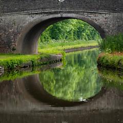 square circle (ellesmere FNC) Tags: shropshire landscape summer canal bat holiday panasonic gx80 waterside