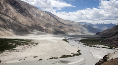 Nubra Valley landscape (bag_lady) Tags: himalayas ladakh india nubravalley scenic travelling journey