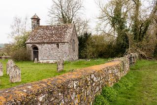 Columbjohn Chapel and Churchyard Wall
