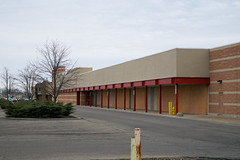 the canopy (Nicholas Eckhart) Tags: america us usa anderson indiana in 2018 retail stores former closed vacant empty shuttered target ayrway discountstore