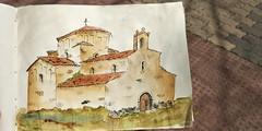 Acuarela de la iglesia de nuestra señora de la anunciada Urueña/Valladolid (anikattel) Tags: acuarela acuarelle wstercolor art arts arte drawins draw dibujo church iglesia colors