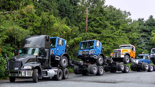 New Mack Trucks - Ready For Delivery