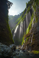 Madakaripura Waterfall, Probolinggo District, East Java, Indonesia. April 2018 (Nur Ismail Photography) Tags: waterfall secluded mystical indonesia eastjava madakaripura tall mist lush green moss rocks boulders plants skylight ancient legend meditation tourist attraction destination wet filter