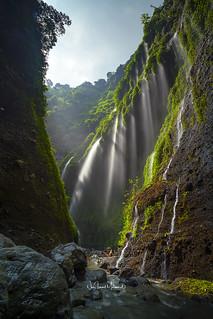 Madakaripura Waterfall, Probolinggo District, East Java, Indonesia. April 2018