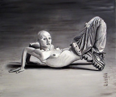 WOMAN WITH JEANS (amir_rad68) Tags: painting girl jeans