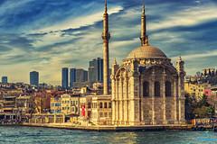 The Mosque (bilalqasim) Tags: turkey europe mosque cruise sea landscape nikoncameras nikond750 nikontop nikonfullframe travel tourism