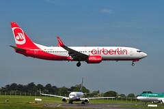 D-ABMQ Boeing 737-86J TUIfly (eigjb) Tags: dublin airport eidw collinstown international ireland jet transport airliner boeing 737 b737 aircraft aeroplane airplane aviation plane spotting 2018 dabmq air berlin 737800 eurowings tuifly 73786j