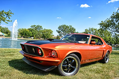 1969 Ford Mustang (Chad Horwedel) Tags: 1969fordmustang fordmustang ford mustang classic car bolingbrookjubilee bolingbrook illinois