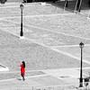 triangle (Wackelaugen) Tags: triangle sc selectivecoloring red dress street woman lantern agiosnikolaos crete greece europe canon eos photo photography stephan wackelaugen square