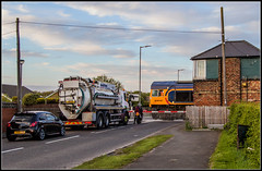 Blocked drain (Blaydon52C) Tags: newsham blyth tyne gbrf 66733 railway rail railways trains train transport locomotive locomotives loco railfreight northumberland northeast northumbria